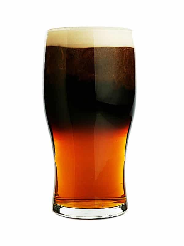 black-velveteen cocktail